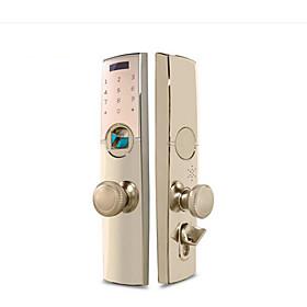 HOLISHI Zinc Alloy lock / Intelligent Lock Smart Home Security System RFID / Fingerprint unlocking / Password unlocking Apartment / Office / Villa Security Do