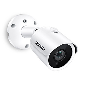 ZOSI IP Camera PoE 2MP HD IP66 Weatherproof Outdoor Indoor Infrared Night Vision Security Video Surveillance SD card slot