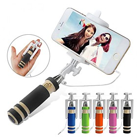Selfie Stick Wired Extendable Max Length 60cm Android Android Android