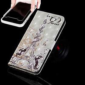 Case For Apple iPhone XR / iPhone XS Max Wallet / Card Holder / with Stand Full Body Cases Eiffel Tower Hard PU Leather for iPhone XS / iPhone XR / iPhone XS M