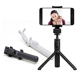 Original Xiaomi Foldable Tripod Selfie Stick Bluetooth Selfiestick With Wireless Shutter Selfie Stick For iPhone Android Xiaomi Global Version