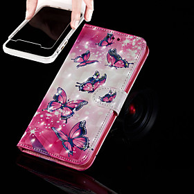 Case For Apple iPhone XR / iPhone XS Max Wallet / Card Holder / with Stand Full Body Cases Butterfly Hard PU Leather for iPhone XS / iPhone XR / iPhone XS Max