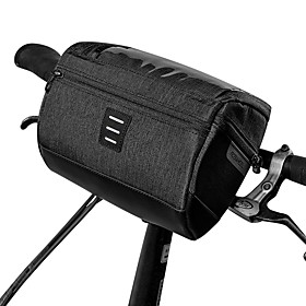 3 L Bike Handlebar Bag Waterproof Portable Wearable Bike Bag 600D Polyester Bicycle Bag Cycle Bag Outdoor Exercise Bike / Bicycle