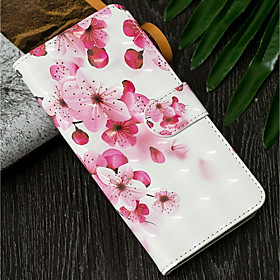 Case For Samsung Galaxy A6 (2018) / A6 (2018) Wallet / with Stand / Flip Full Body Cases Flower Hard PU Leather for A5(2018) / A6 (2018) / A6 (2018)
