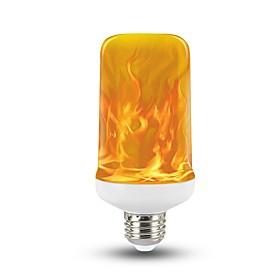 1pc 7 W 300 lm E26 / E27 LED Globe Bulbs T 90 LED Beads SMD 2835 Party / Decorative / Christmas Wedding Decoration Warm Yellow 85-265 V