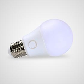 GMY 1pc 9 W 675 lm E26 / E27 LED Globe Bulbs A60(A19) 1 LED Beads SMD Warm White 220-240 V