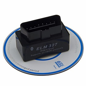 16pin Male to one Female OBD-II ELM327 Vehicle Diagnostic Scanners