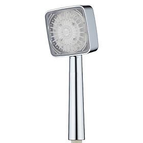 2017 New LED Shower Head Sprinkler Colorful Gradient Novelty Light Temperature Sensor ShowerHead No Battery Bathroom Accessories
