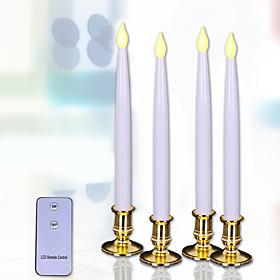 Holiday Decorations New Year's / Christmas Decorations Christmas Lights LED Light / Kits White 4pcs