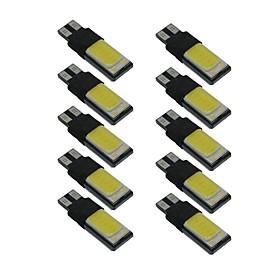 10pcs T10 Car Light Bulbs 6 W COB 330 lm LED Side Marker Lights For