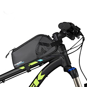 0.9 L Bike Frame Bag Waterproof Portable Wearable Bike Bag 600D Ripstop Bicycle Bag Cycle Bag Outdoor Exercise Bike / Bicycle
