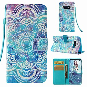 Case For Samsung Galaxy S9 Plus / S8 Wallet / Card Holder / Flip Full Body Cases Mandala Hard PU Leather for S9 / S9 Plus / S8 Plus