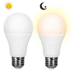 2pcs 6 W 500 lm E26 / E27 LED Globe Bulbs 8 LED Beads SMD 2835 Light Control Warm White / Cold White 85-265 V