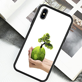 Case For Apple iPhone X / iPhone XS Pattern Full Body Cases Tree Hard Acrylic / Plastic for iPhone XS / iPhone XR / iPhone X