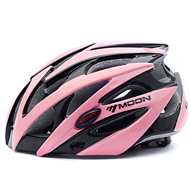 MOON Adults Bike Helmet 25 Vents CE Impact Resistant Lightweight Ventilation EPS PC Sports Mountain Bike / MTB Road Cycling Cycling / Bike - Black / Pink / Int