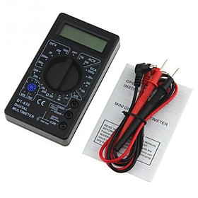 OEM DT832 Digital Multimeter / Cable Tester / Battery Tester Circuit Detection / Current and voltage capacity detection / phone charging safety monitoring