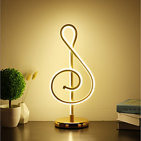 Simple / Modern Contemporary Decorative / Lovely Table Lamp / Desk Lamp For Study Room / Office / Girls Room Aluminum 220-240V Gold / White