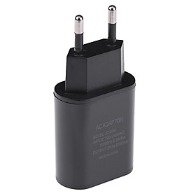 USB Charger -- Male to one Female Desk Charger Station New Design EU Plug Charging Adapter