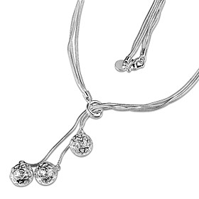 Women's Necklace Harness Necklace Charm Necklace Silver Plated Unique Design Trendy Romantic Hyperbole Cute Lovely Wedding Silver 46 cm Necklace Jewelry 1pc Fo