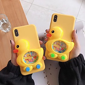 Case For Apple iPhone XS Max / iPhone 6 Game case Back Cover / Full Body Cases Animal Soft Silica Gel for iPhone XS / iPhone XR / iPhone XS Max