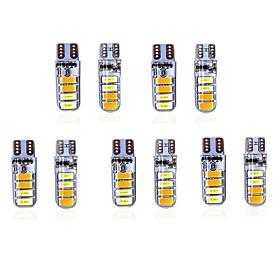 10pcs T10 Car Light Bulbs 5 W SMD 5630 200 lm 8 LED Side Marker Lights For