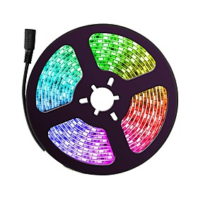 ZDM 5m Flexible LED Light Strips / RGB Strip Lights 150 LEDs 5050 SMD Color-changing Waterproof / New Design / Party 12 V 1pc