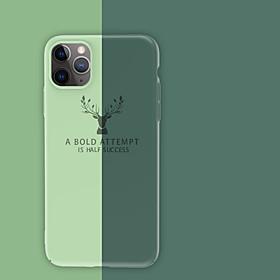 Etui Til Apple iPhone 11 / iPhone 11 Pro / iPhone 11 Pro Max Stødsikker Bagcover Ensfarvet PC Hvad er der i æsken?:Etui1; Type:Bagcover; Materiale:PC; Kompatibilitet:Apple; Mønster:Ensfarvet; Funktioner:Stødsikker; noteringsdato:12/09/2019; Produktion tilstand:ekstern indkøb; Telefon / Tablet Kompatibel Model:iPhone 6,iPhone 6 Plus,iPhone 6s,iPhone 6s Plus,iPhone SE (2020),iPhone 7,iPhone 11 Pro Max,iPhone 7 Plus,iPhone 11 Pro,iPhone X,iPhone 11,iPhone 8 Plus,iPhone XS Max,iPhone 8,iPhone XR,iPhone XS