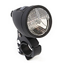 Bicycle Headlights with Rechargeable Batteries and Charger Black