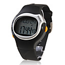 Mens Watch Sports Heart Rate Monitor Calories Counter Silicone Strap
