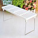 Kitchen Multifunctional Folding Shelves (White)