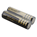 UltraFire BRC 18650 3.7V 4000mAh Rechargeable Li-ion Batteries (2-Pack, Gold)