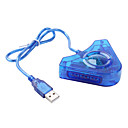 PS2 to USB Controller Converter (Blue)
