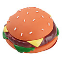 Squeaking Hamburger Toy for Dogs