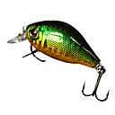 Hard Bait Crank 1 Meter Floating Plastic Fishing Lure 40MM 7G(1pc/Color Assorted)