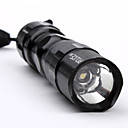 Police 1-Mode LED Flashlight with Hand Strap (50LM, 1xAA)