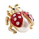 Ladybug Gilted Earrings (Assorted Colors)