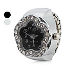 Womens Star Style Alloy Analog Quartz Ring Watch (Assorted Colors)