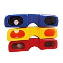 Bright Color Glasses Style Portable Night Vision Binoculars (Random Color)