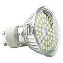 GU10 2.5W 48x3528 SMD 140-180LM 6000-6500K Natural White Light LED Spot Bulb (220-240V)