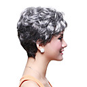 Capless Short High Quality Synthetic Wavy Hair Wig