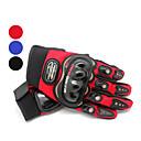 leisure-sports-polyester-full-finger-motobike-gloves