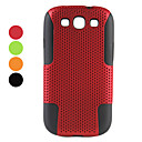 Silicone Mesh Protective Cover Case for Samsung Galaxy S3 I9300 (Assorted Colors)