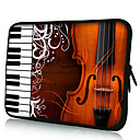Cello and Piano Neoprene Laptop Sleeve Case for 10-15 iPad MacBook Dell HP Acer Samsung