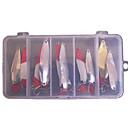 Fishing Lure Metal Bait Set (10 Pieces/Set)
