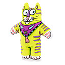 Scarf Cat Style Catnip Toy for Cat (Green)