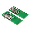 2.4GHz NRF24L01 Wireless Communication Module for (For Arduino) (Green, 2 PCS)