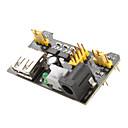 3.3V-5V Power Supply Module for MB102 Breadboard (Black)