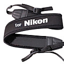 Cámara de neopreno Correa de cuello para Nikon D5000 D5100 y más