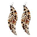 Leopard Painting Streamline Earrings
