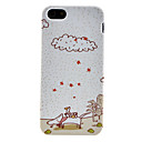 Cartoon Animal Pattern Soft TPU Case for iPhone 5/5S